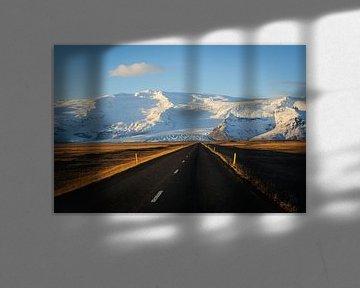 Straße zum Berg