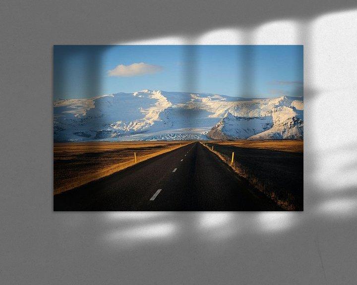 Impression: Road to the mountain sur Sjoerd Mouissie