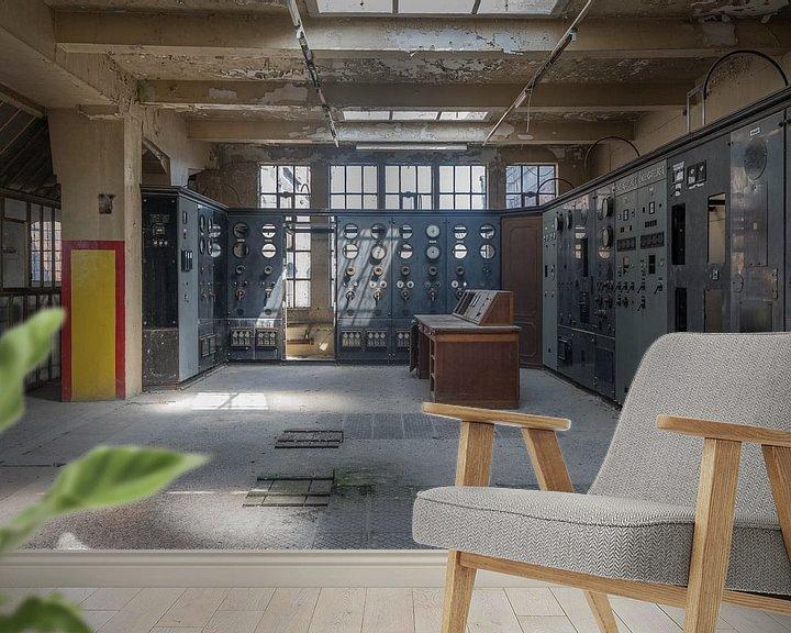Beispiel fototapete: Control Room B von Jeroen Brams
