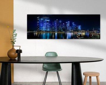 Singapore Skyline von Thomas Froemmel