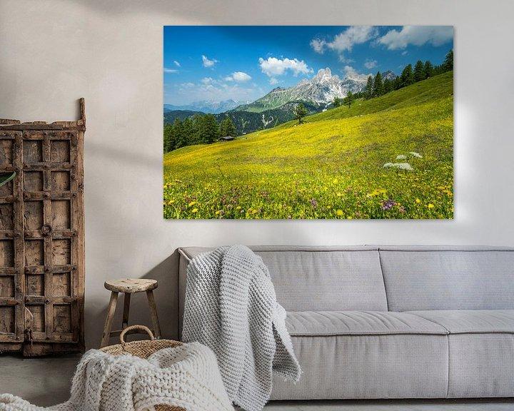 Sfeerimpressie: Alpenweide Bischofsmütze van Martin Smit