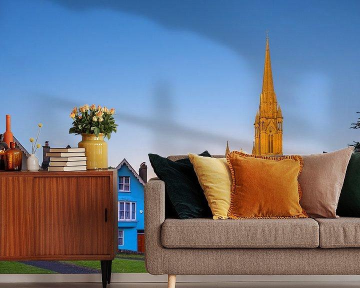 Sfeerimpressie behang: St Colman's Kathedraal, Cobh, Ierland van Henk Meijer Photography