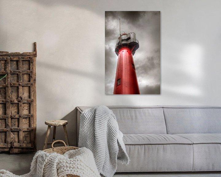 Sfeerimpressie: Vuurtoren in Hoek van Holland van PAM fotostudio