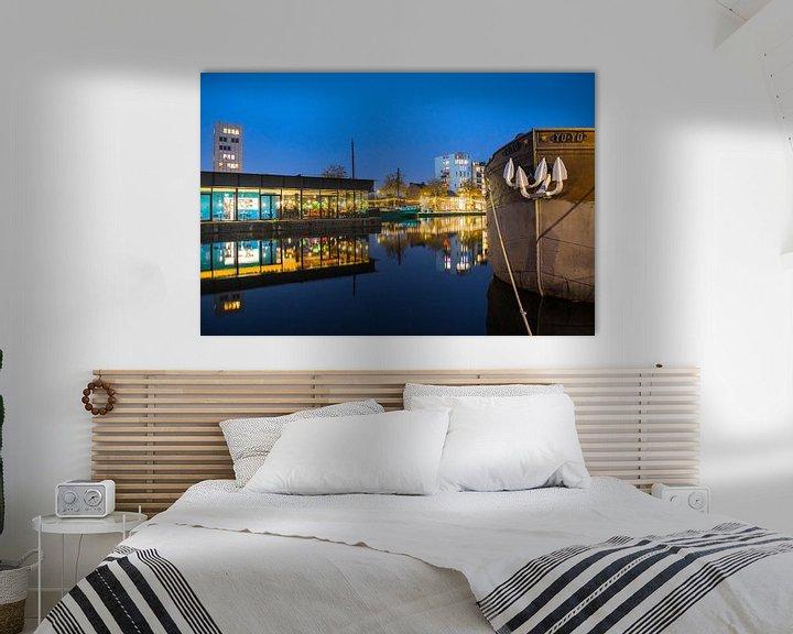 Sfeerimpressie: Nieuwe middenpier aan de Tilburgse Piushaven  van Freddie de Roeck