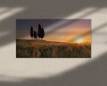Croce di Prata, Toscane van Henk Meijer Photography
