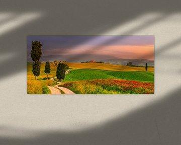 Agriturismo Podere Terrapille, Toscane van Henk Meijer Photography