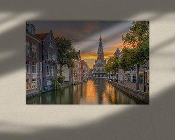 Zijdam und der Waag, Alkmaar von Sjoerd Veltman