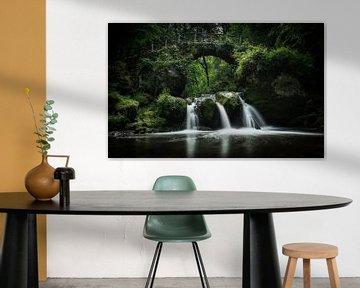 Schiesstumpel waterval van Niels Eric Fotografie