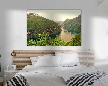Fjorde in Norwegen von Marleen De Wandeleer