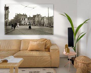 Oude foto Amsterdam von Corinne Welp
