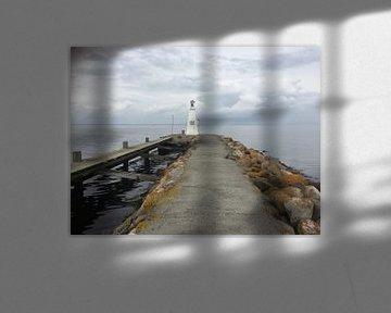 Mystiek op de pier van Bogense sur Margriet Adema
