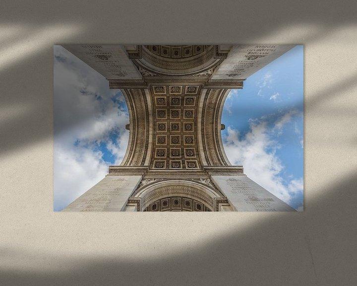 Sfeerimpressie: De Arc de Triomphe in Parijs van MS Fotografie   Marc van der Stelt
