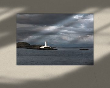 Leuchtturm von Eilean Musdale (Schottland) von Eddie Meijer