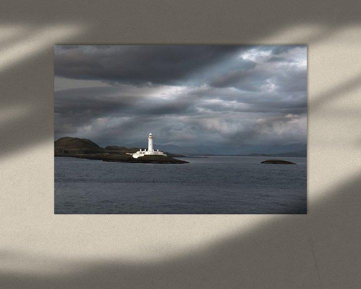 Sfeerimpressie: Vuurtoren van Eilean Musdale (Schotland) van Eddie Meijer
