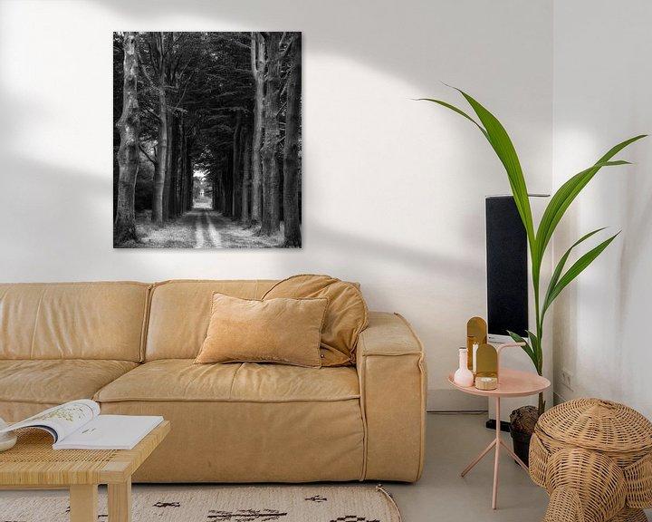 Impression: voie d'arbre sur Eddie Meijer
