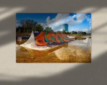 skateboardbaan Utrecht van Eugene Winthagen