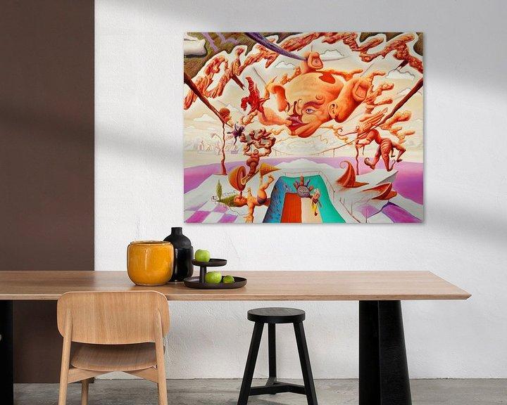 Impression: Vision an einer Wäscheleine sur Art Demo