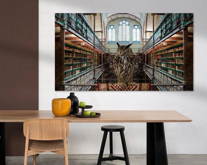 Sfeerimpressie: UIL - Bibliotheek Rijksmuseum Amsterdam van Hannie Kassenaar