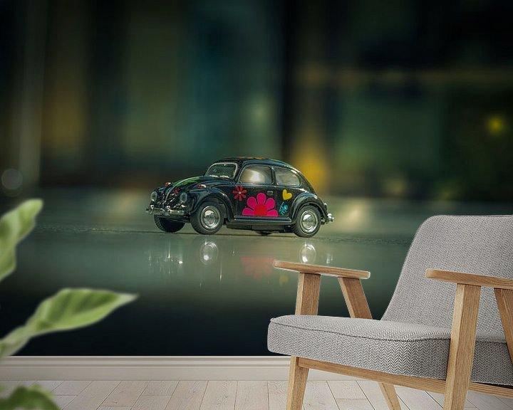 Sfeerimpressie behang: VW Käfer - VW - Beetle van Dagmar Marina