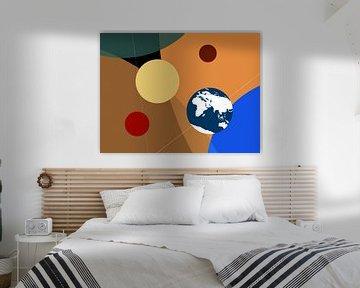 Portret van de planeten - grafisch