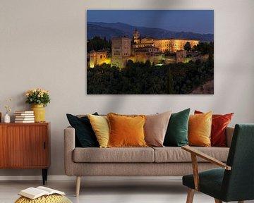 Alhambra - Granada  van Jack Koning
