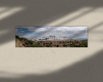 Vejer de la Frontera (panorama) van Jack Koning