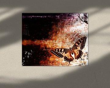 Butterfly. van PictureWork - Digital artist