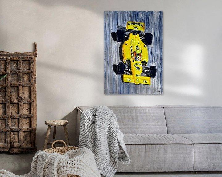 Sfeerimpressie: Ayrton Senna - The Lotus Years van Jean-Louis Glineur alias DeVerviers