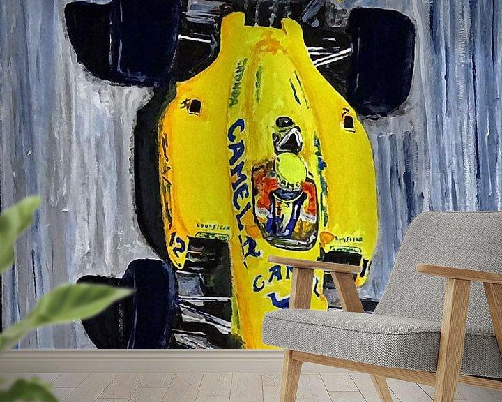 Sfeerimpressie behang: Ayrton Senna - The Lotus Years van Jean-Louis Glineur alias DeVerviers