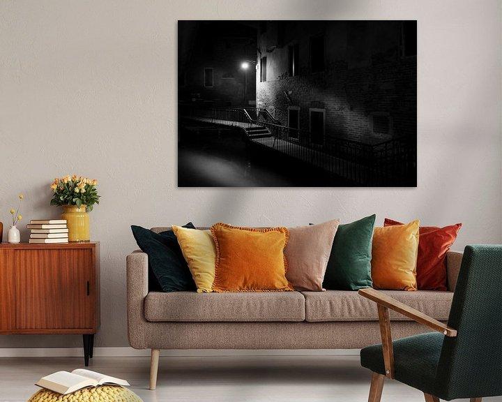 Sfeerimpressie: Venetie bij nacht van Gerard Wielenga