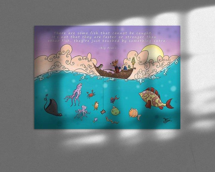 Sfeerimpressie: Vissen van Jesse Boom
