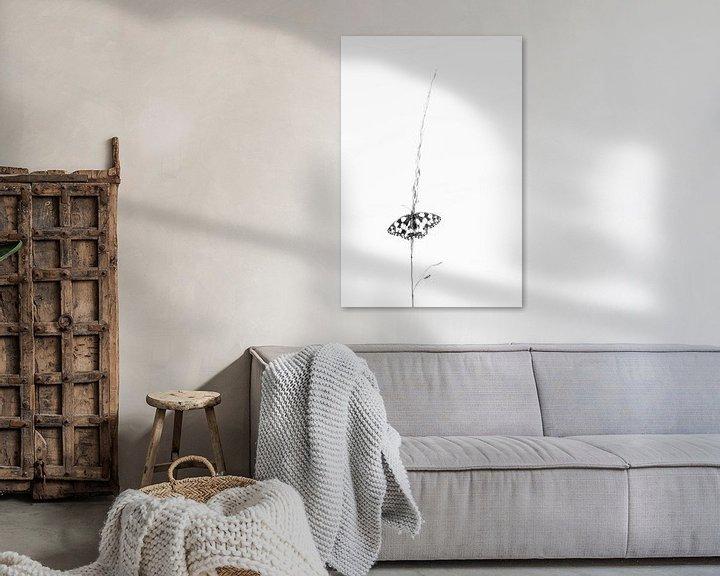 Sfeerimpressie: Dambordje in zwart wit van Judith Borremans