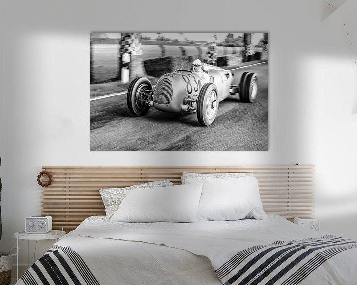 Sfeerimpressie: Auto Union Grand Prix Rennwagen Type C V16 van Sjoerd van der Wal