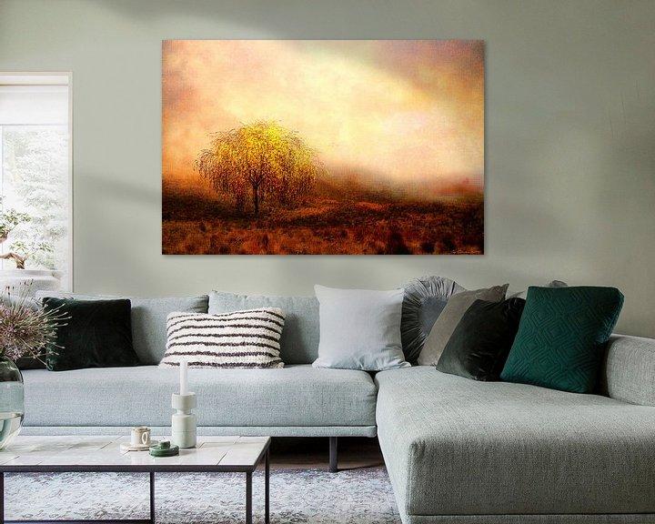 Sfeerimpressie: De wilgenboom van Jacq Christiaan