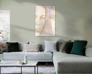 Double sur ART Eva Maria