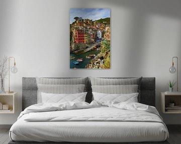 Riomaggiore Cinque Terre Italie