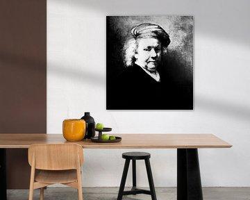 Selbstporträt Rembrand van Rijn