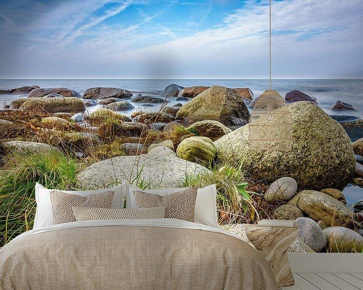 Beispiel fototapete: Die Ostseeküste auf der Insel Rügen im Herbst von Rico Ködder