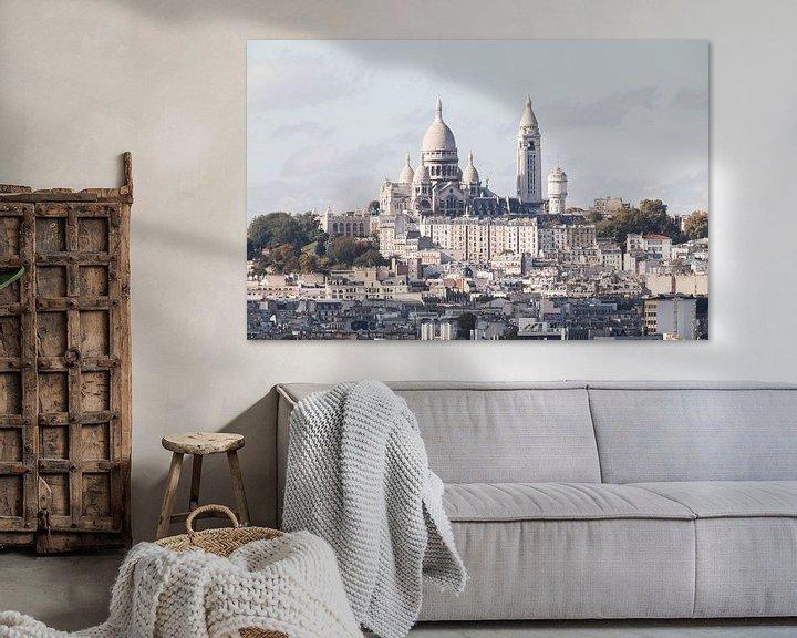 Sfeerimpressie: De Basiliek van Sacré-Coeur in Parijs van MS Fotografie | Marc van der Stelt