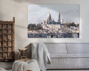 La Basilique du Sacré-Coeur à Paris