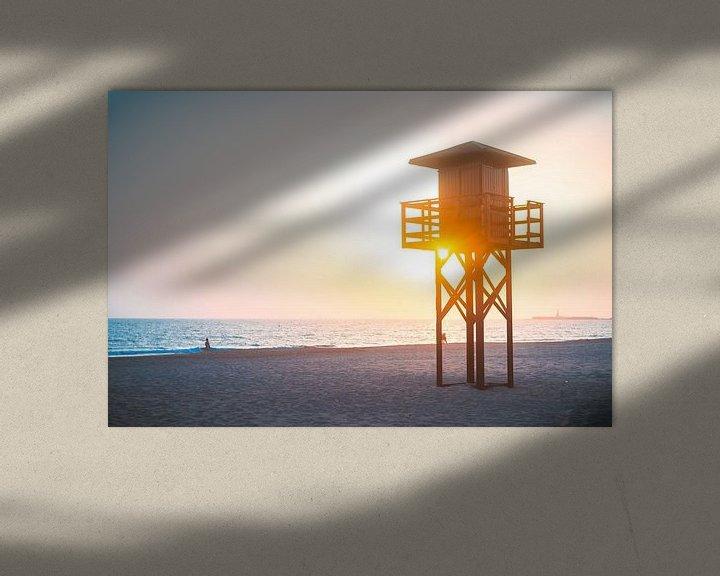 Sfeerimpressie: Costa de la Luz zonsondergang 2 van Andy Troy