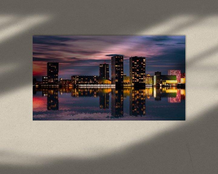 Sfeerimpressie: Almere skyline van jody ferron