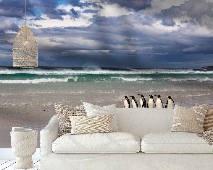 Sfeerimpressie behang: After the Storm - 3 van Claudia van Zanten