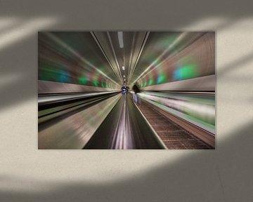 Rolltreppe von Linda Raaphorst