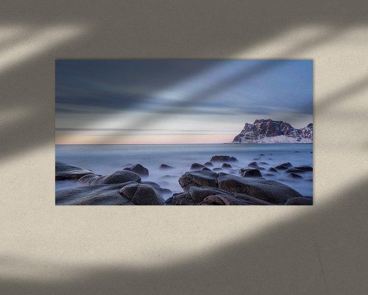 Sfeerimpressie: Strand Noorwegen van Steven Hendrix