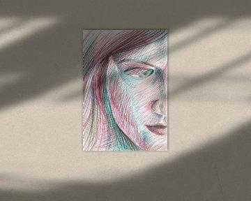 Regarder à travers vos cils sur ART Eva Maria