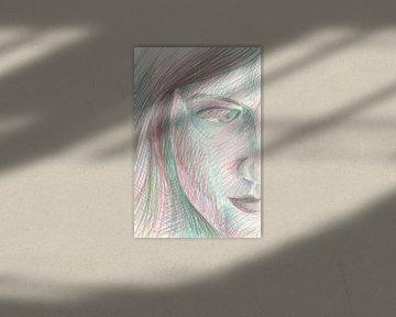 Door je wimpers heen kijken van ART Eva Maria