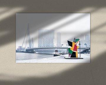 Skyline von Rotterdam von Francisca Snel