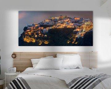 Sonnenuntergang Imerovigli, Santorin, Griechenland