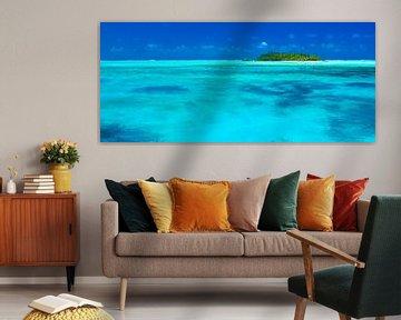 Maina Atoll, Aitutaki - Cook Islands van Van Oostrum Photography
